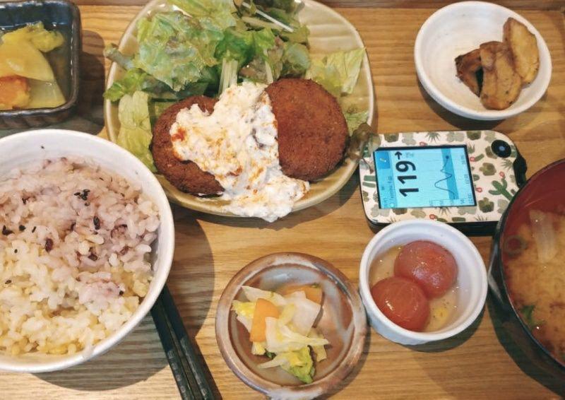 Mumokuteki Cafè, vegetarian set