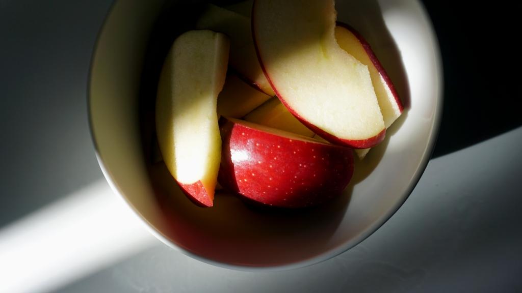 Ingrediente zero waste: un mela